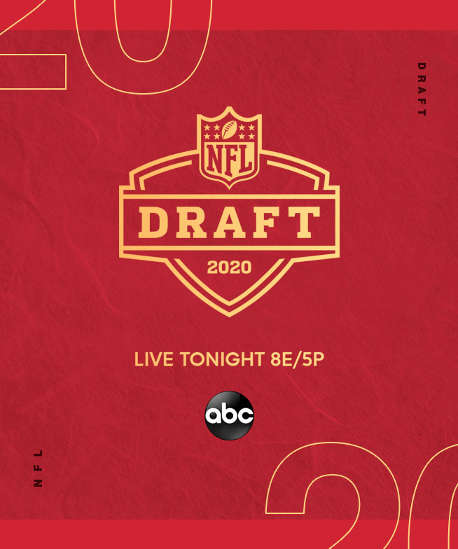 ABC : NFL Draft 2020 Branding