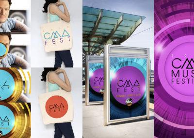 2018 CMA Fest rebrand style grid