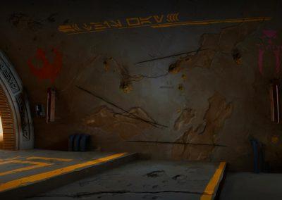 Arena interior damage level 3