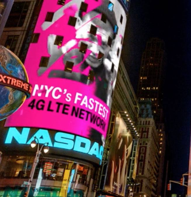 TMobile: Times Square Takeover