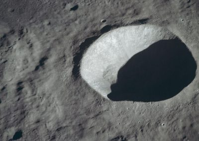 Crater on the Moon, Reference for Aurora