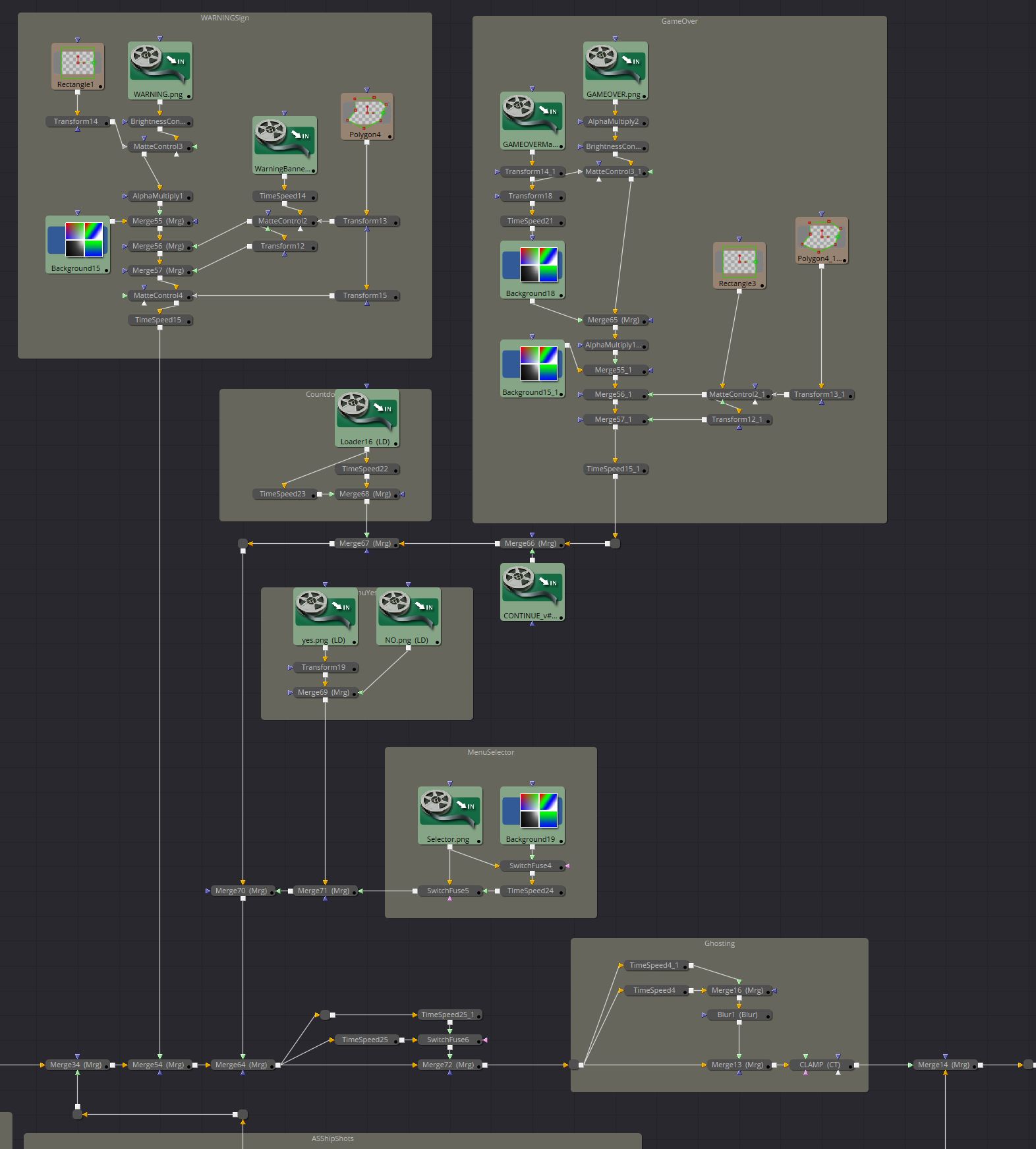 Blackmagic: Fusion node layout