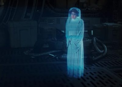 Star Wars Universe Full body projection reference